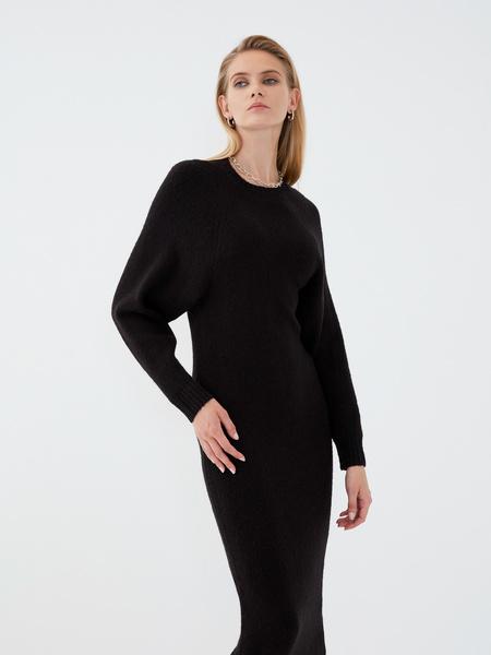 Платье с длинным рукавом - фото 1