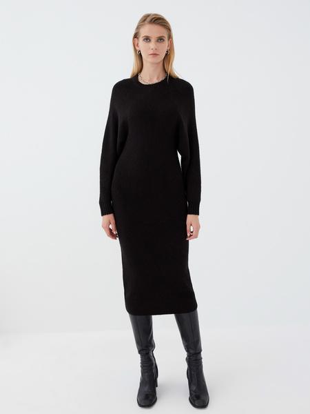 Платье с длинным рукавом - фото 2