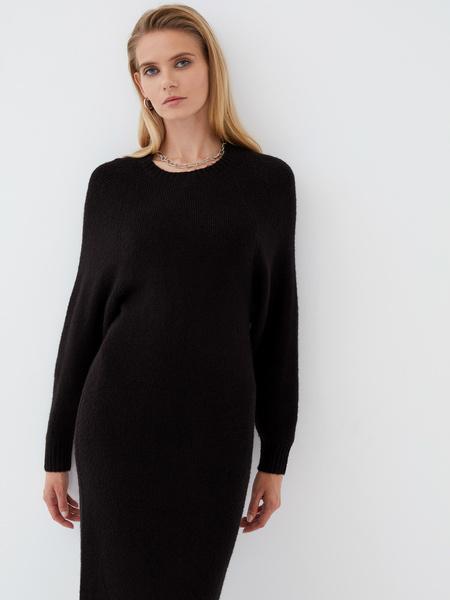 Платье с длинным рукавом - фото 4