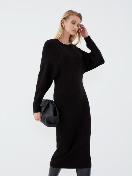 Платье с длинным рукавом - фото 5
