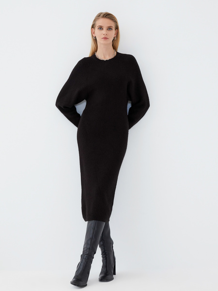 Платье с длинным рукавом - фото 6