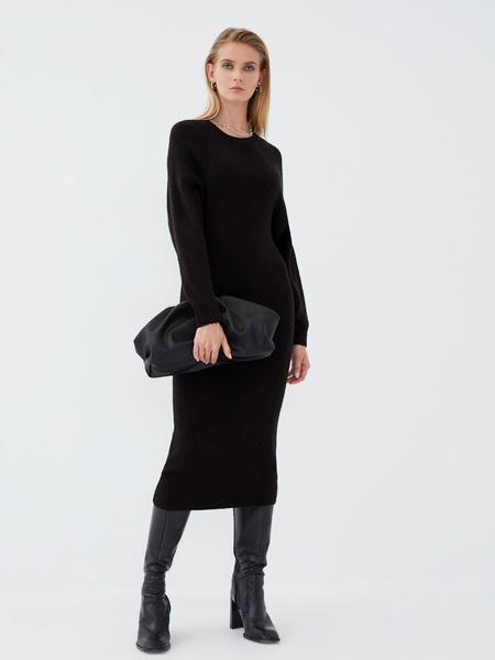 Платье с длинным рукавом - фото 8