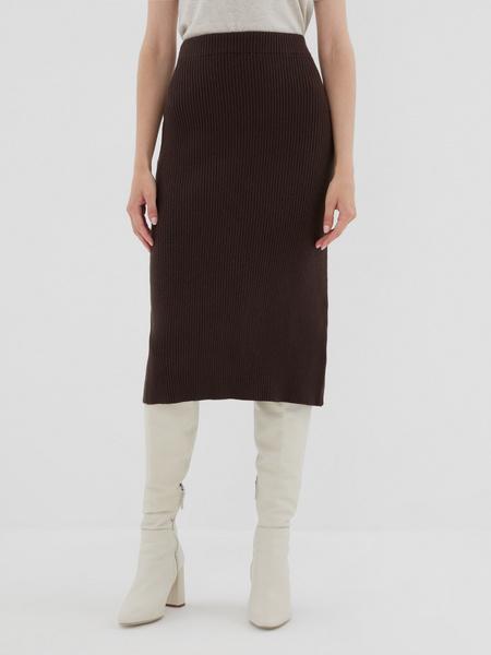 Облегающая трикотажная юбка - фото 2