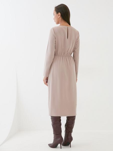 Платье с разрезом - фото 5