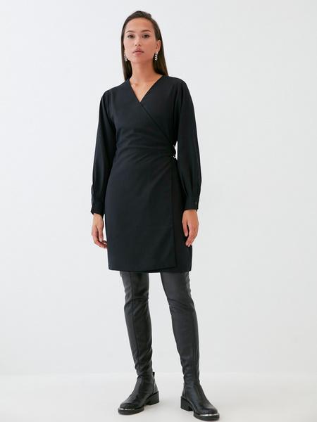 Платье со стяжкой на боку - фото 2