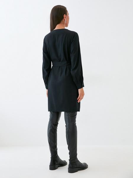 Платье со стяжкой на боку - фото 6