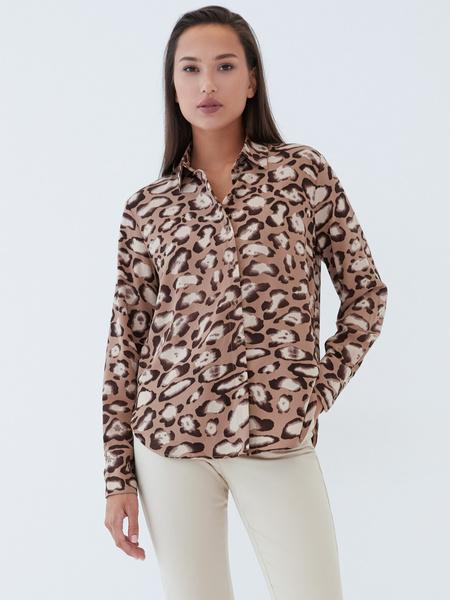 Блузка с принтом - фото 5