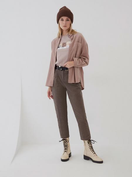 Вельветовые брюки - фото 1