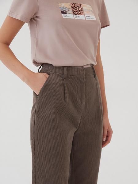 Вельветовые брюки - фото 3