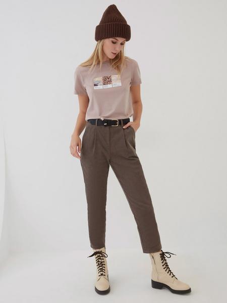 Вельветовые брюки - фото 5