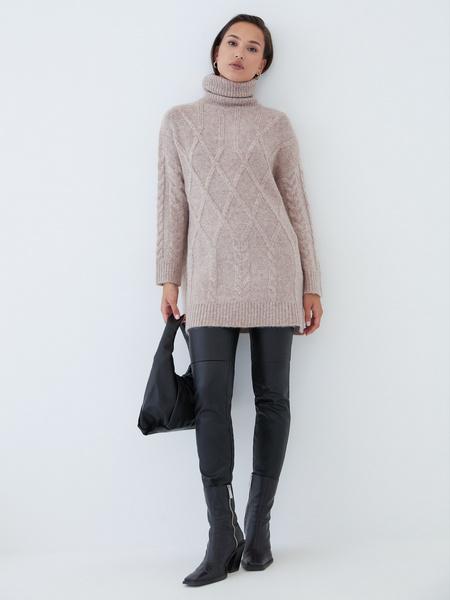 Удлиненный свитер - фото 2