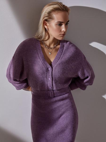 Платье с объемным верхом - фото 1