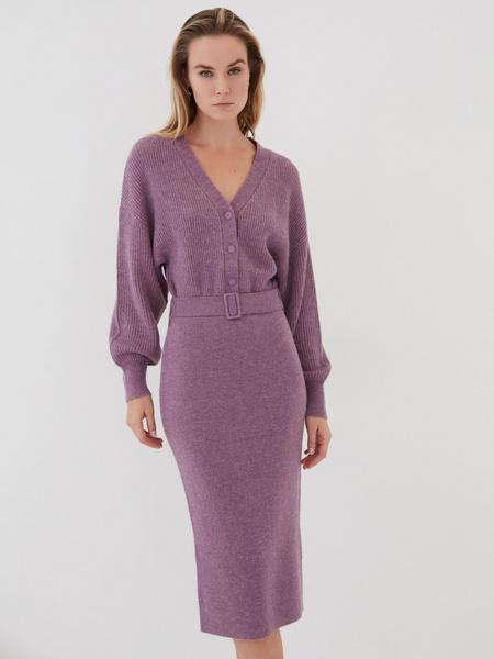 Платье с объемным верхом - фото 2