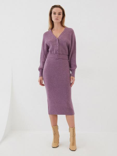 Платье с объемным верхом - фото 3