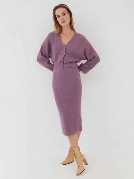 Платье с объемным верхом - фото 7