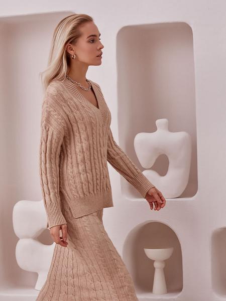 Вязаная юбка - фото 2