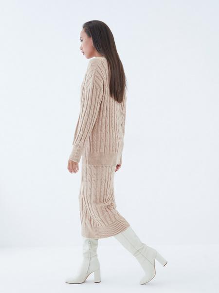 Вязаная юбка - фото 8