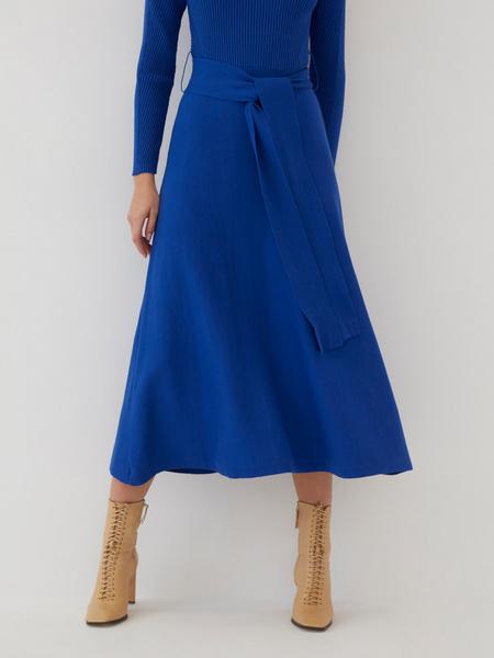 Трикотажное платье-миди - фото 8