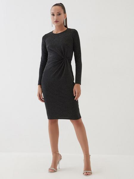 Платье со сборками на талии - фото 1