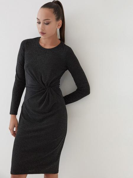 Платье со сборками на талии - фото 2