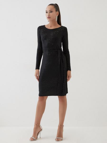 Платье с пайетками - фото 1