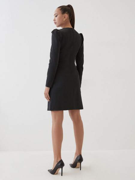 Платье с поясом на талии - фото 5