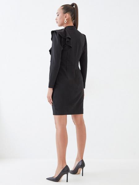 Платье с воланом на плече - фото 6