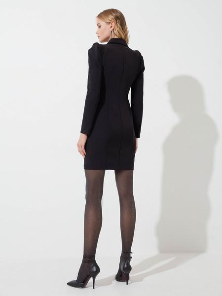 Платье-жакет на пуговицах - фото 5