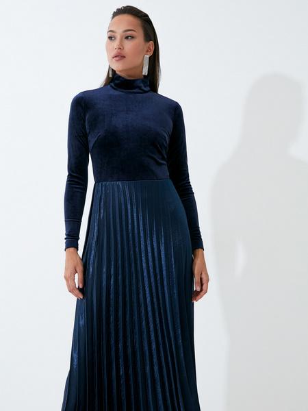 Бархатное платье - фото 6