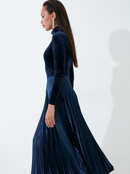 Бархатное платье - фото 7