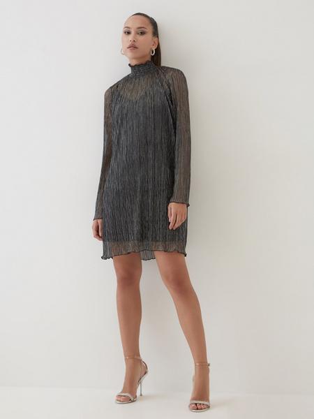 Платье с люрексом - фото 2
