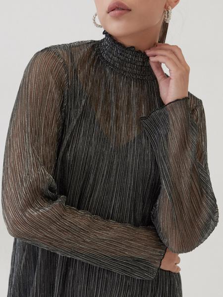 Платье с люрексом - фото 3