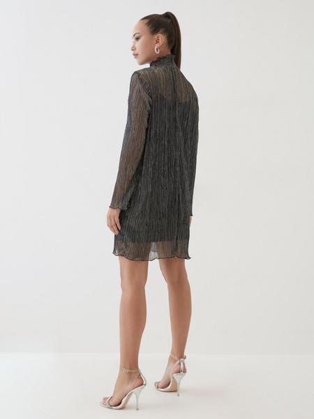 Платье с люрексом - фото 5