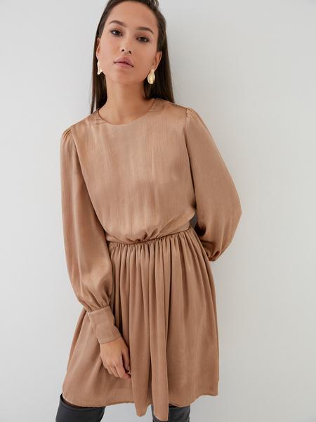 Платье с юбкой-солнце - фото 1