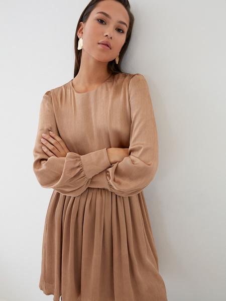 Платье с юбкой-солнце - фото 4
