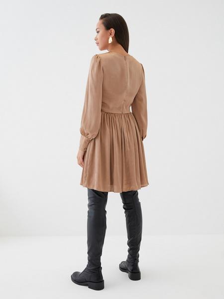 Платье с юбкой-солнце - фото 5