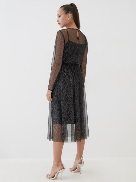 Платье с сияющим напылением - фото 4