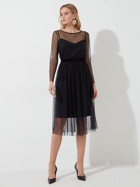 Платье со стразами - фото 2