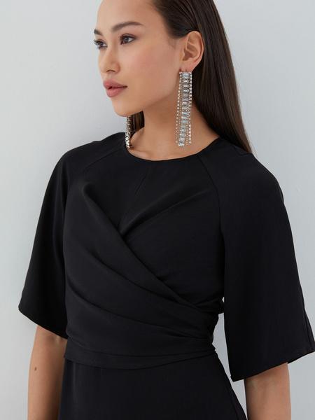 Платье с перекрученным лифом - фото 3