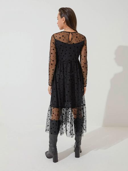 Платье с воланом - фото 6