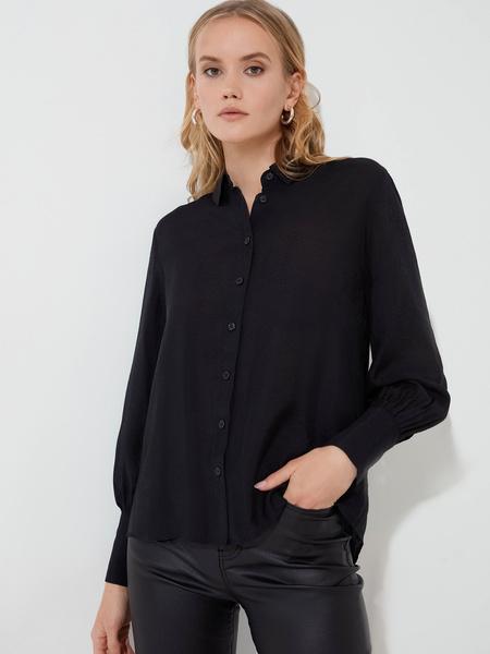 Блузка с длинными рукавами - фото 1