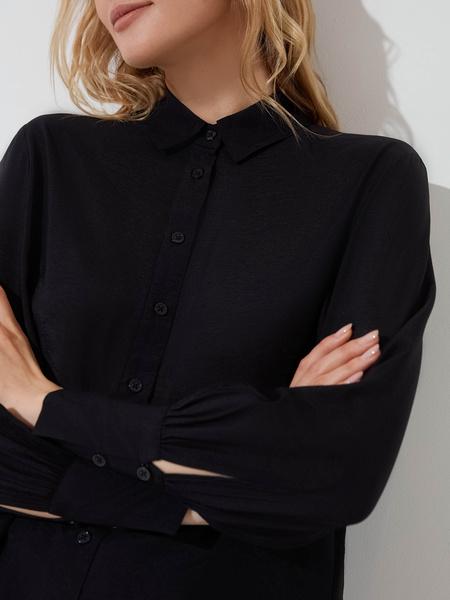 Блузка с длинными рукавами - фото 3