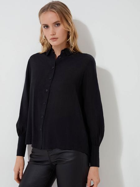 Блузка с длинными рукавами - фото 4