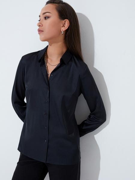 Блузка приталенная - фото 1