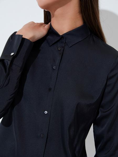 Блузка приталенная - фото 3