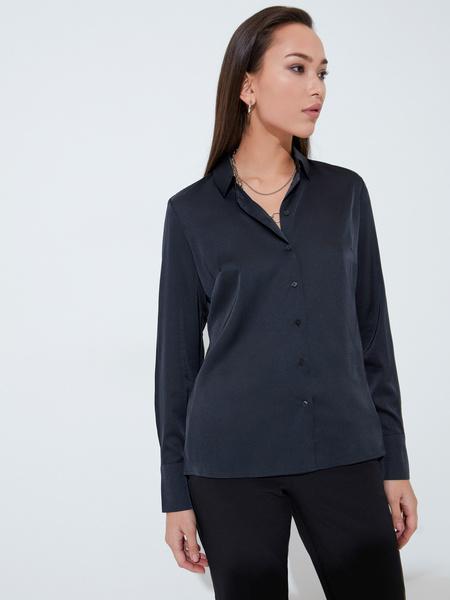Блузка приталенная - фото 4
