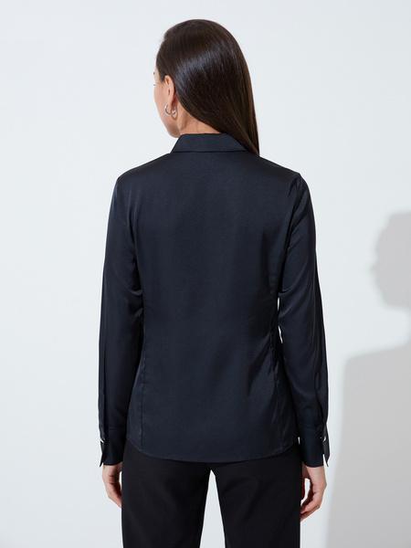 Блузка приталенная - фото 5