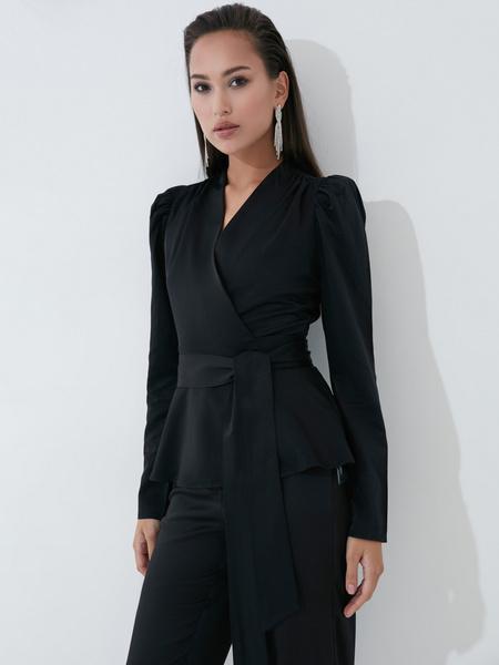 Блузка с бантом - фото 1