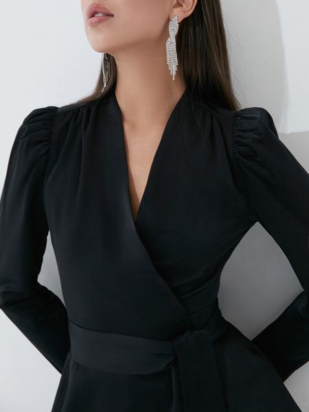 Блузка с бантом - фото 3