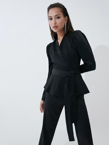 Блузка с бантом - фото 4